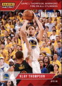 2017-18 Panini Instant Golden State Warriors Championship Box Set Basketball #20 Klay Thompson  2018 NBA Champions Trading Card