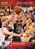 2017-18 Panini Instant Golden State Warriors Championship Box Set Basketball #21 Stephen Curry  2018 NBA Champions Trading Card