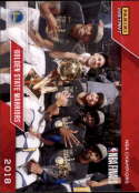 2017-18 Panini Instant Golden State Warriors Championship Box Set Basketball #28 Golden State Warriors  2018 NBA Champions Trading Card