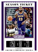 2019-20 Panini Collegiate Draft Picks Season Ticket Variation #38 LeBron James NM Near Mint