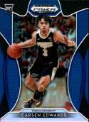 2019-20 Prizm Draft Blue Prizms Refractor Basketball #98 Carsen Edwards Purdue Boilermakers Official NCAA Draft Rookie P