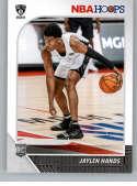 2019-20 Panini Hoops #242 Jaylen Hands NM-MT Brooklyn Nets