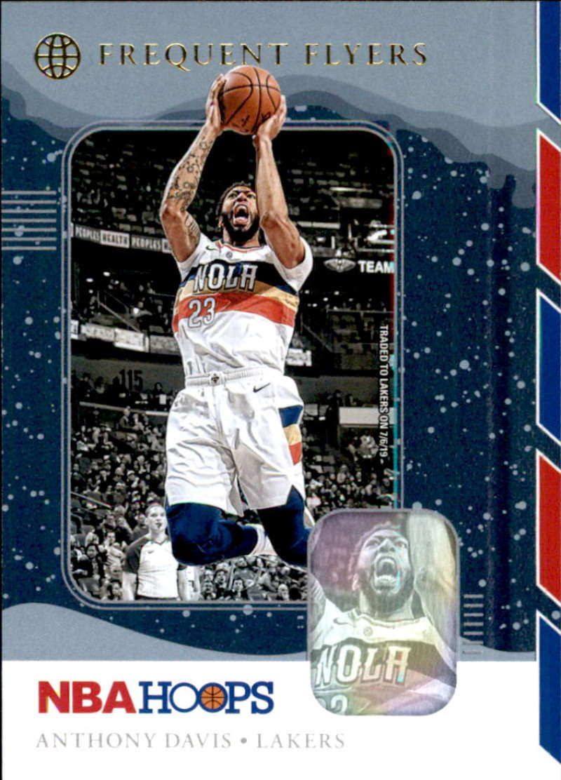 2019-20 Panini Hoops Frequent Flyers Winter