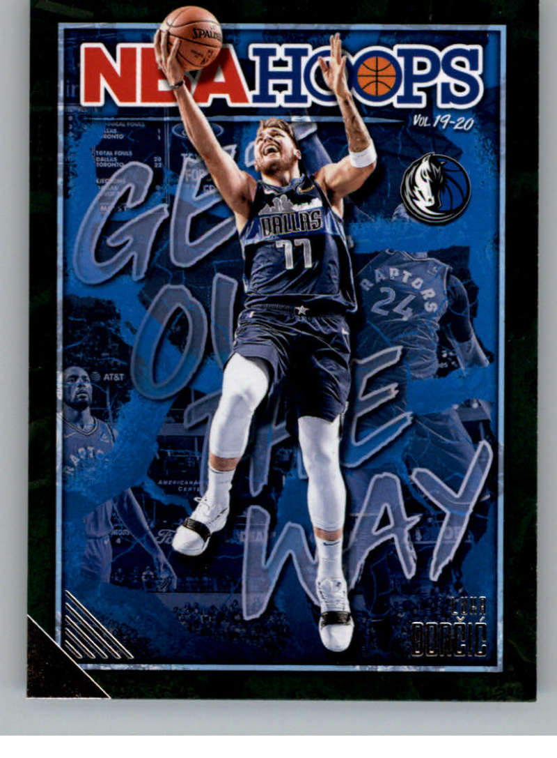 2019-20 Panini Hoops Get Out the Way