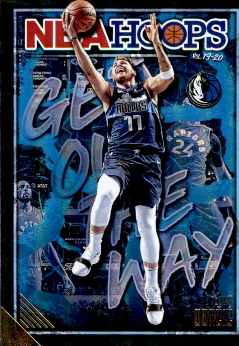2019-20 Panini Hoops Get Out the Way Holo