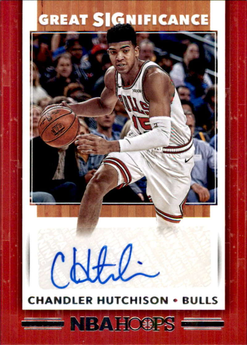 2019-20 Panini Hoops Great SIGnificance