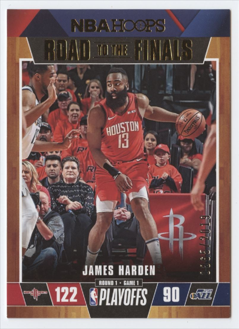 2019-20 Panini Hoops Road to the Finals First Round