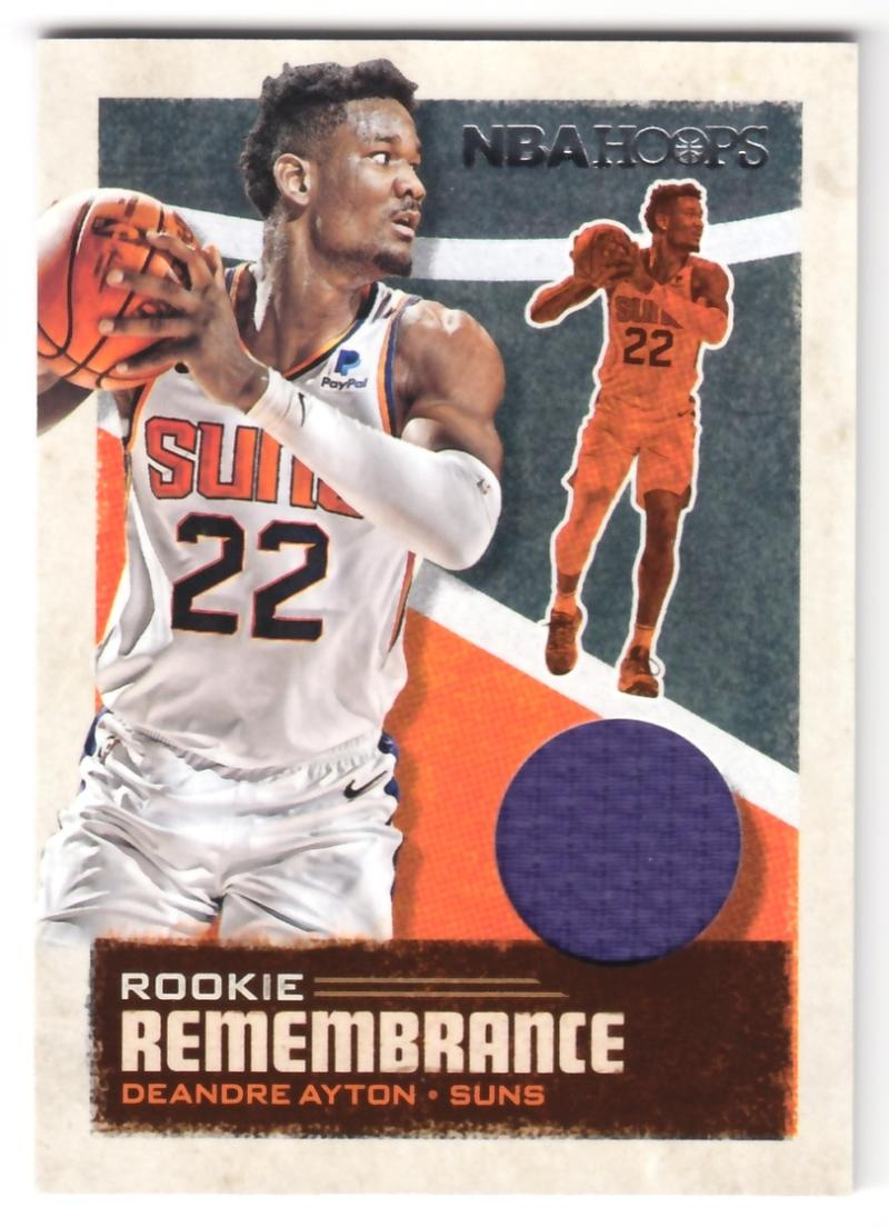 2019-20 Panini Hoops Rookie Remembrance