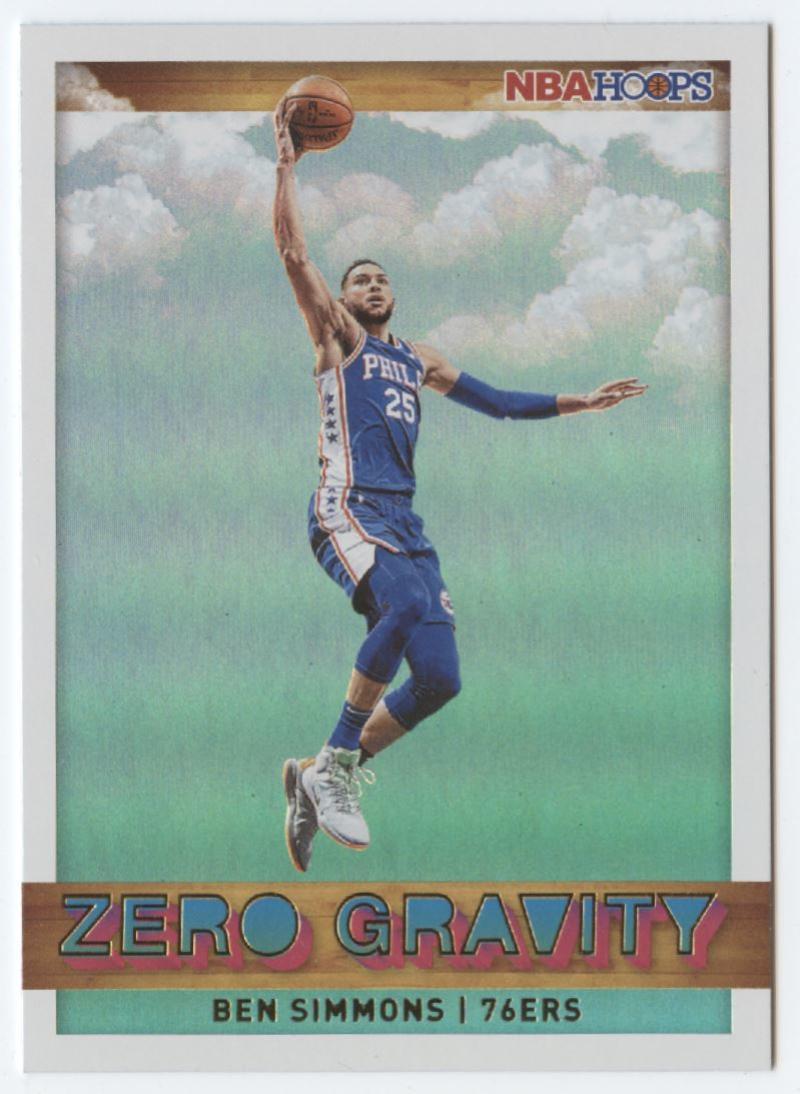 2019-20 Panini Hoops Zero Gravity Holo