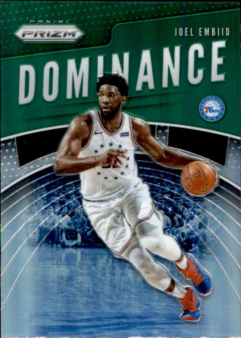 2019-20 Panini Prizm Dominance Prizms Green