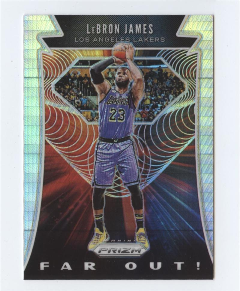 2019-20 Panini Prizm Far Out! Prizms Hyper