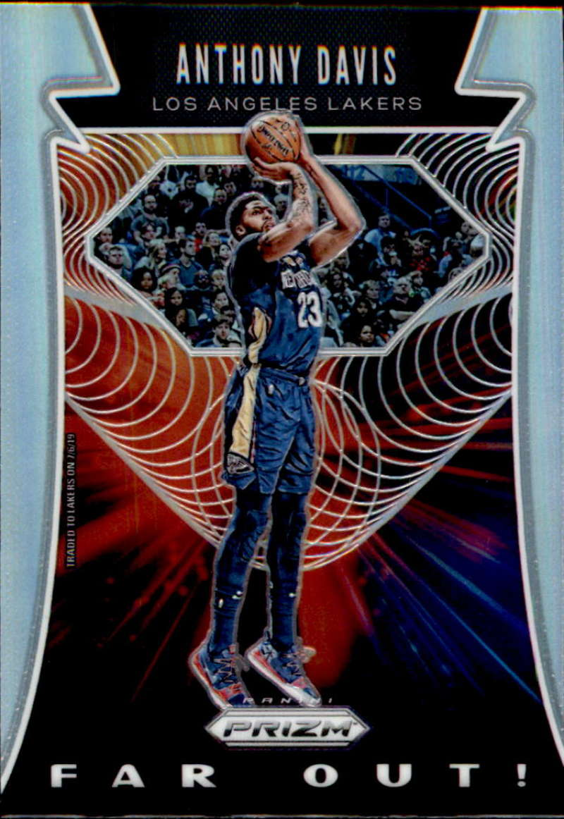 2019-20 Panini Prizm Far Out! Prizms Silver