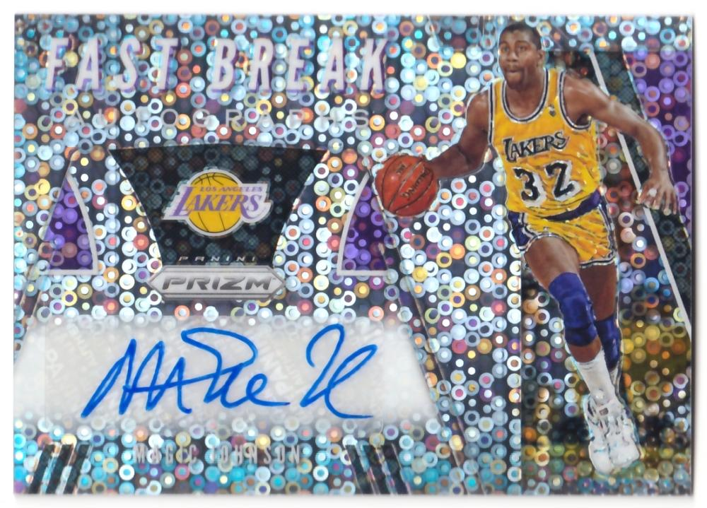 2019-20 Panini Prizm Fast Break Autographs