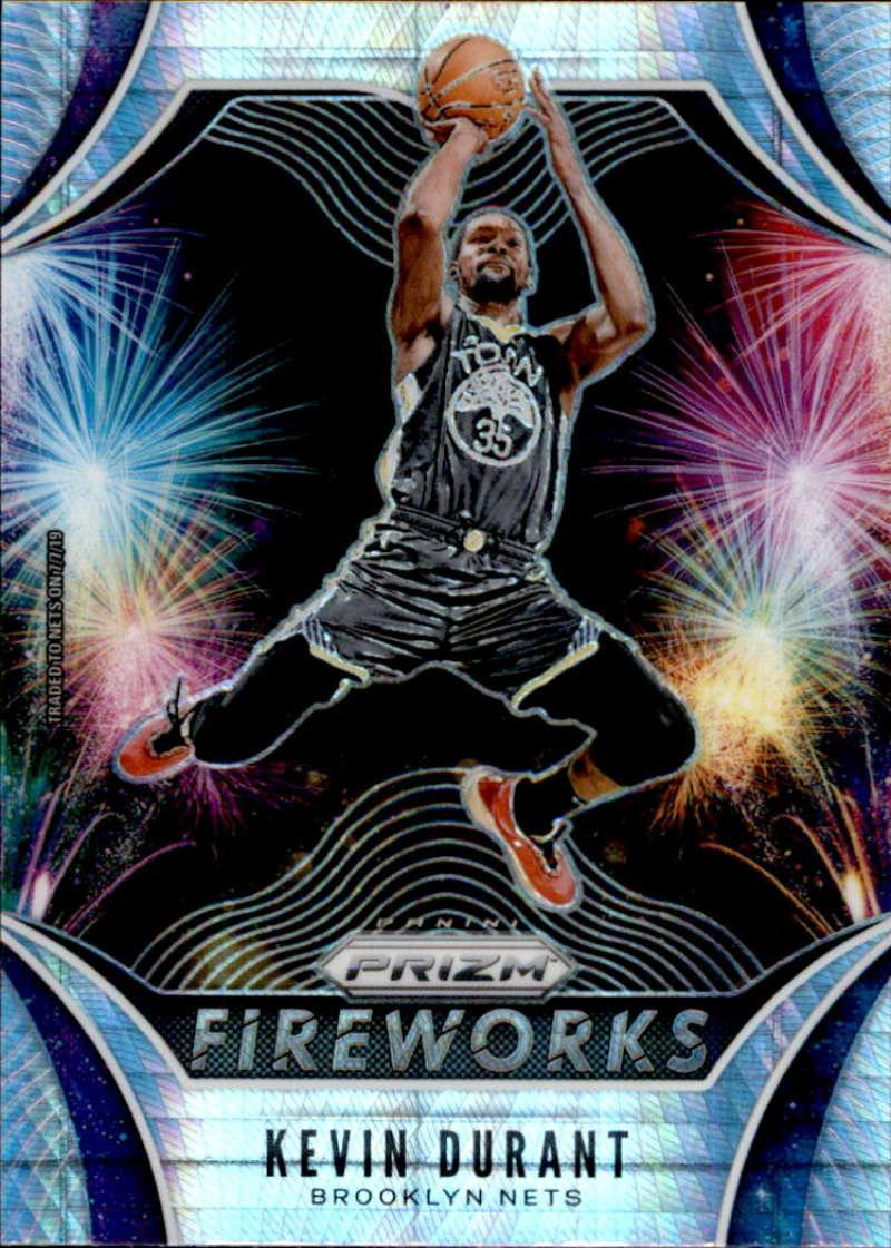 2019-20 Panini Prizm Fireworks Prizms Hyper
