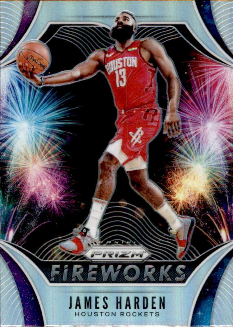 2019-20 Panini Prizm Fireworks Prizms Silver