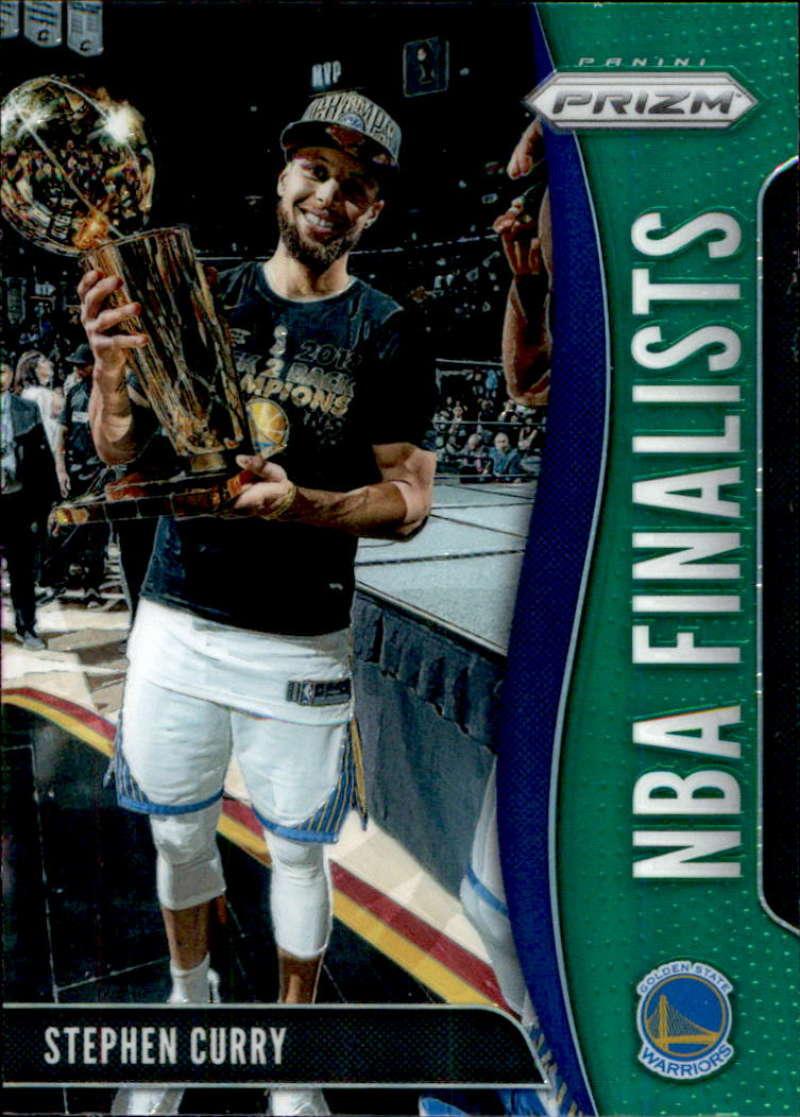 2019-20 Panini Prizm NBA Finalists Prizms Green