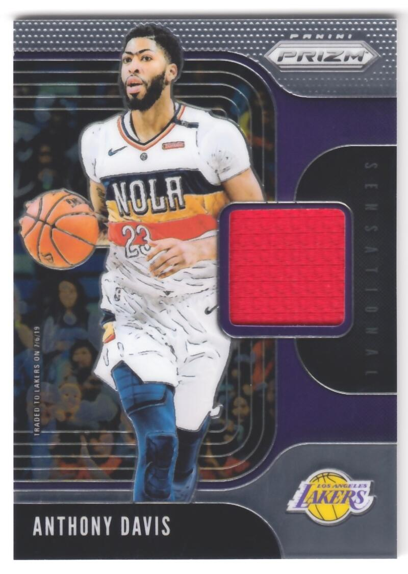 2019-20 Panini Prizm Sensational Swatches
