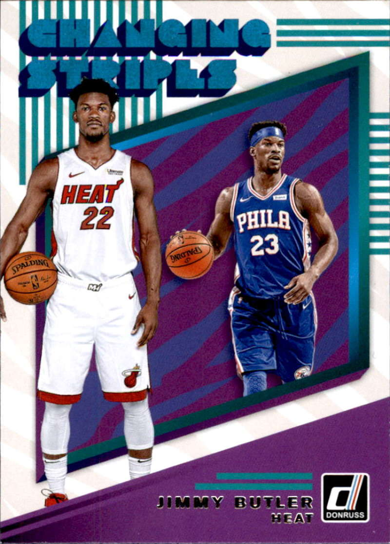 2019-20 Donruss  Changing Stripes