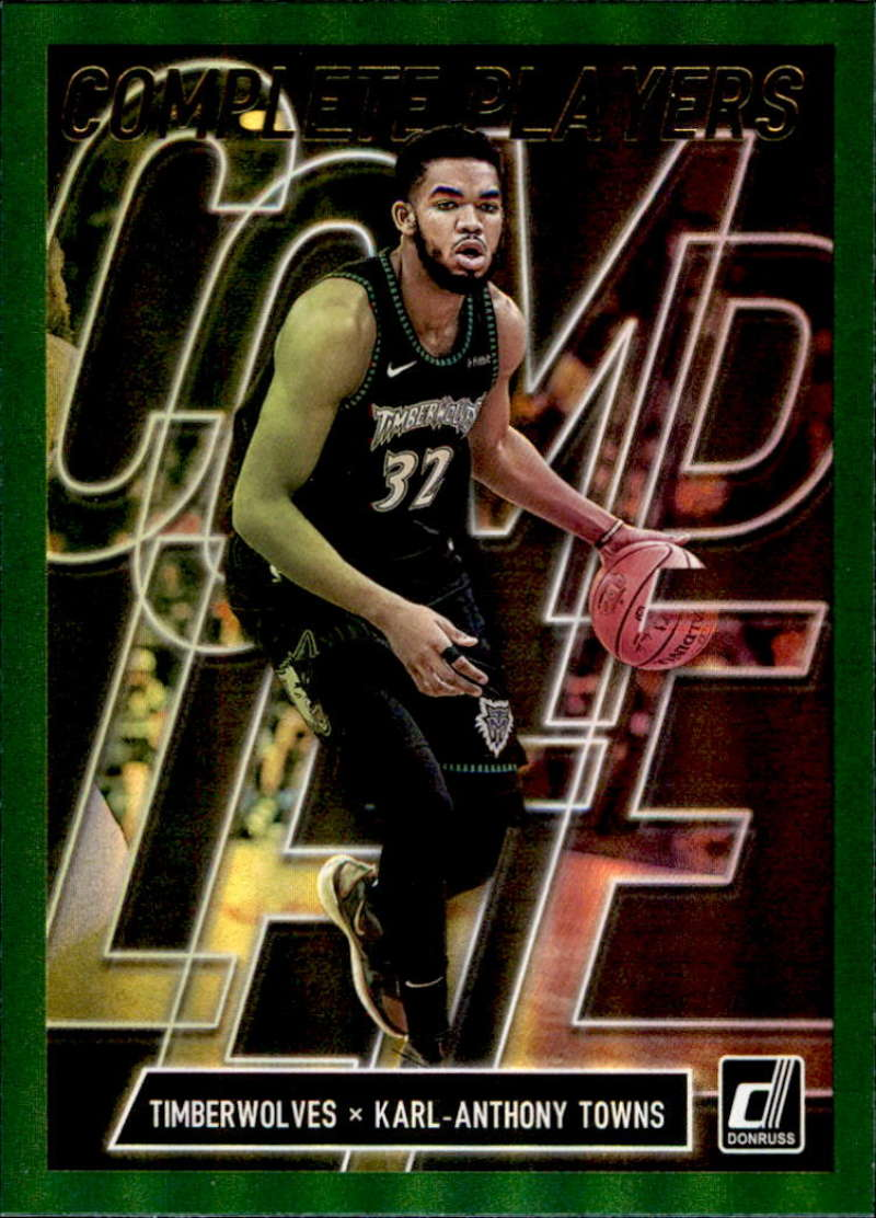 2019-20 Donruss  Complete Players Green Flood
