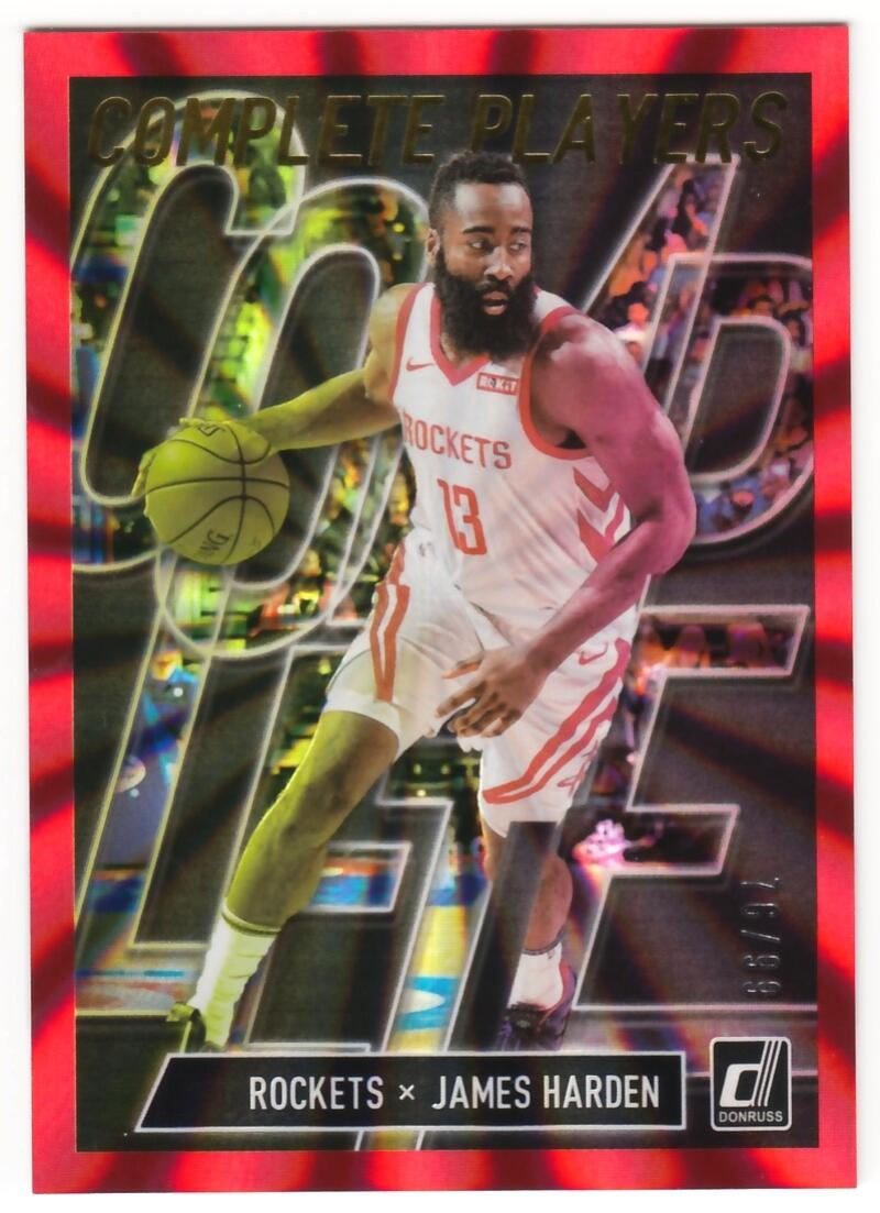 2019-20 Donruss  Complete Players Holo Red Laser