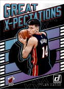 2019-20 Donruss Great X-Pectations Basketball #25 Tyler Herro Miami Heat Official NBA Trading Card From Panini America
