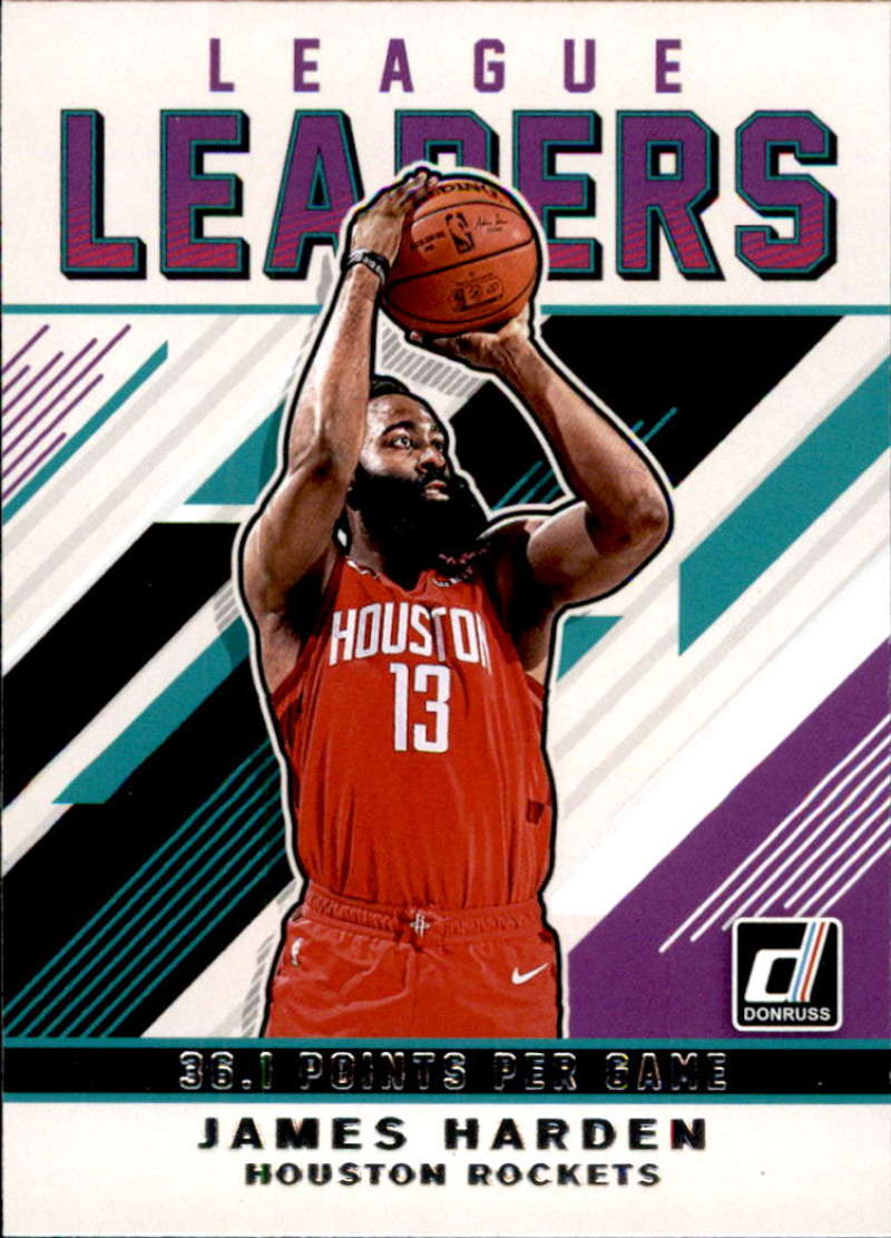 2019-20 Donruss  League Leaders