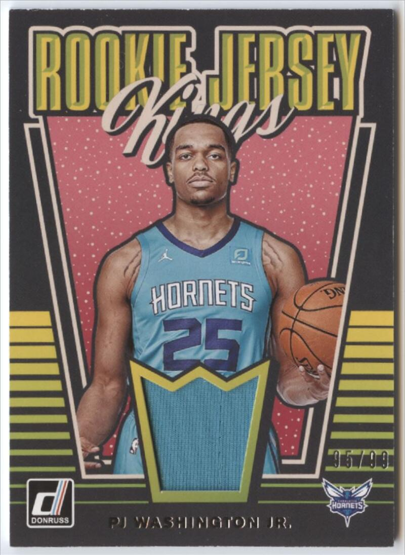 2019-20 Donruss  Rookie Jersey Kings