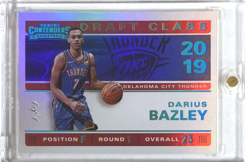 2019-20 Panini Contenders 2019 Draft Class Contenders Championship Edition
