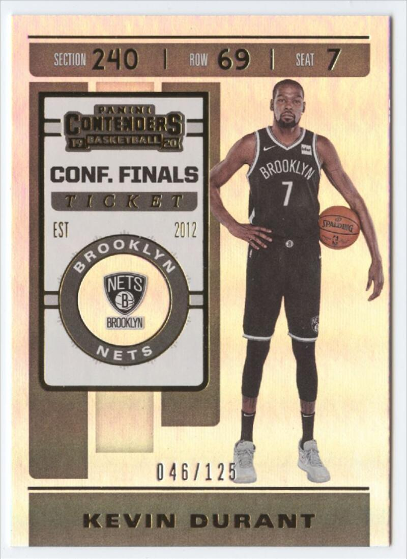 2019-20 Panini Contenders Conference Finals Ticket