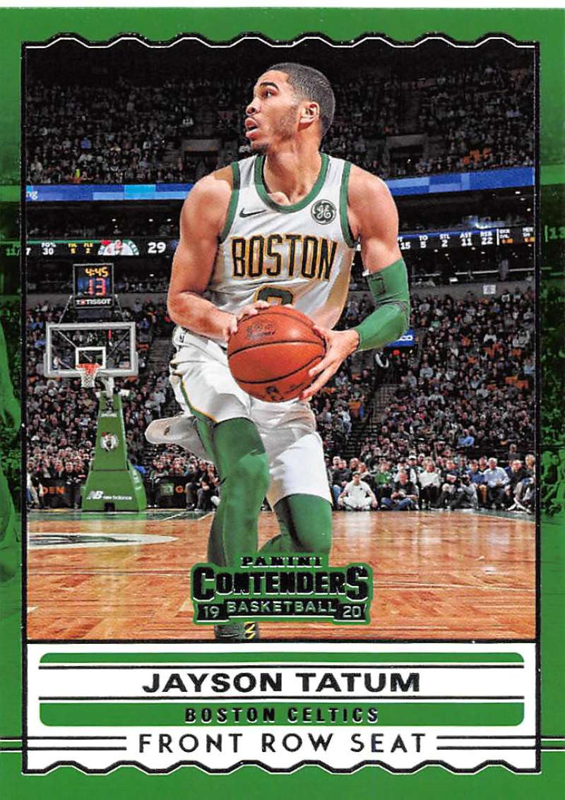 2019-20 Panini Contenders Front Row Seat