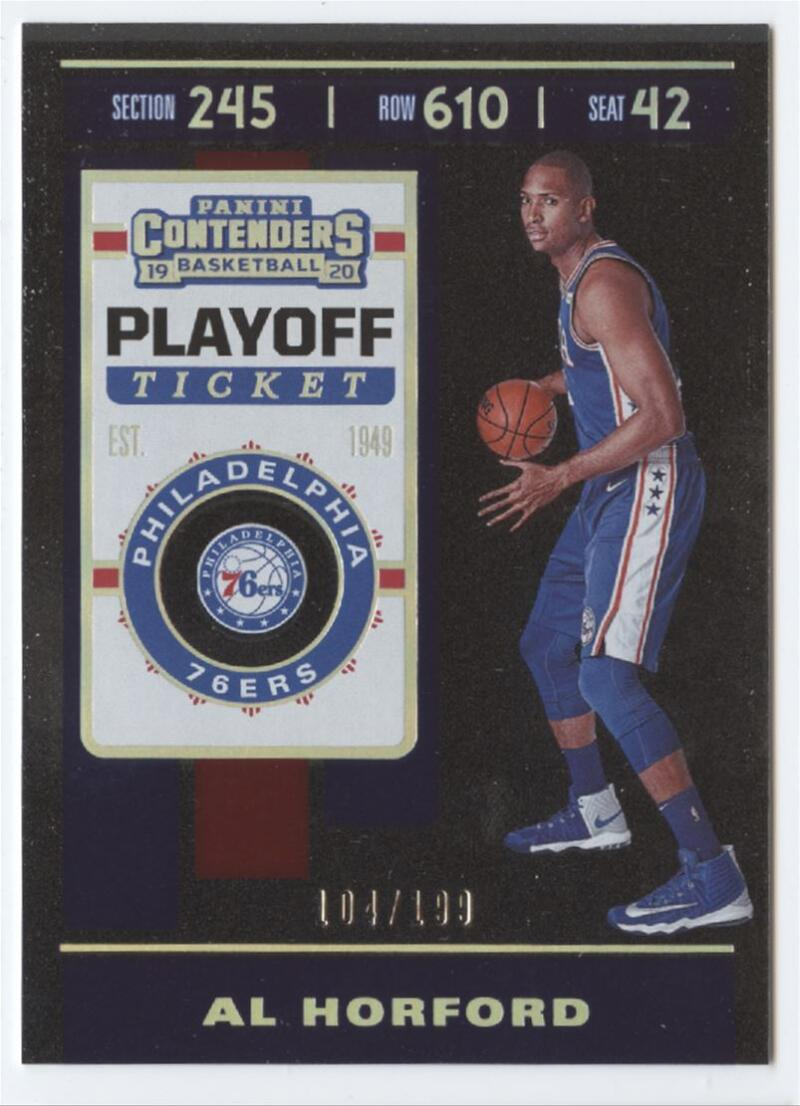 2019-20 Panini Contenders Playoff Ticket