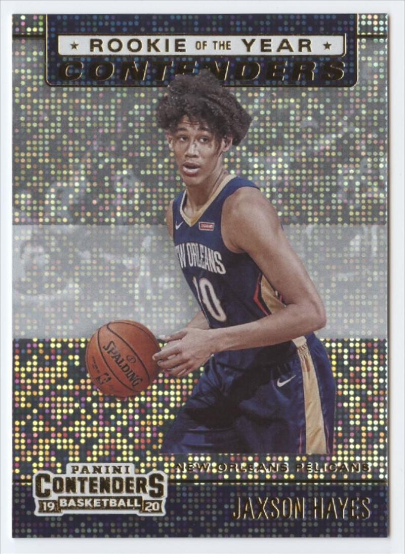 2019-20 Panini Contenders Rookie of the Year Contenders