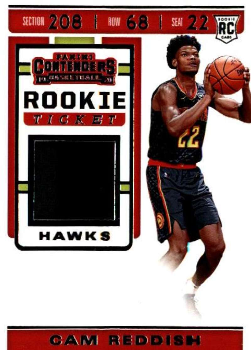 2019-20 Panini Contenders Rookie Ticket Swatches