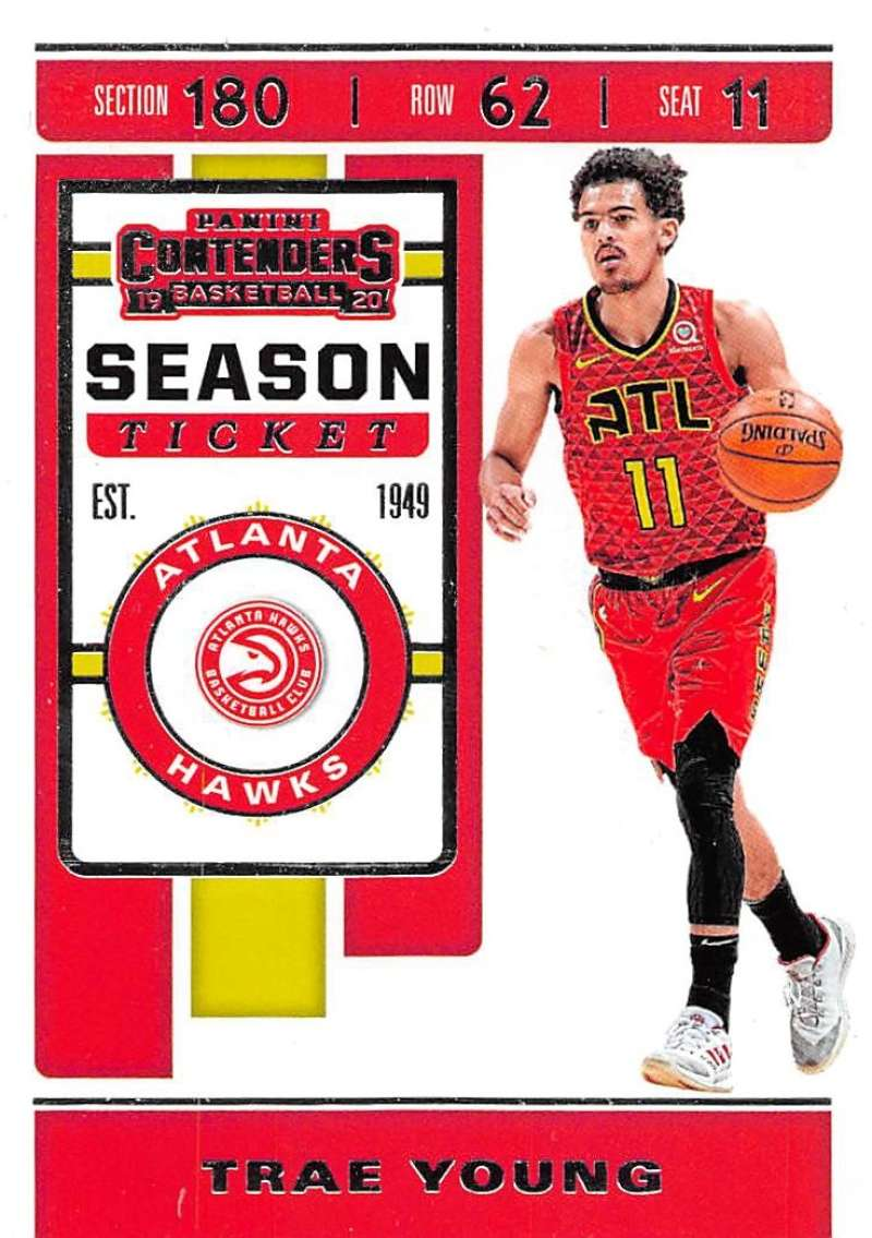 2019-20 Panini Contenders Season Ticket