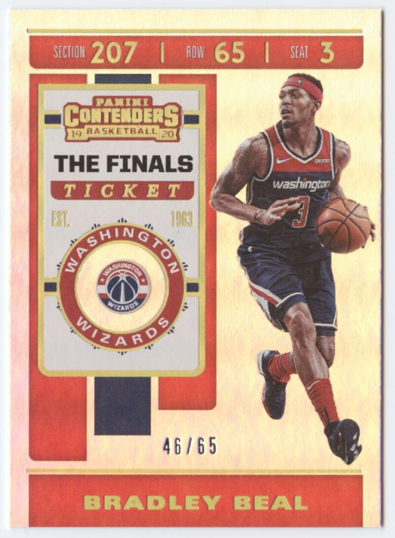 2019-20 Panini Contenders The Finals Ticket