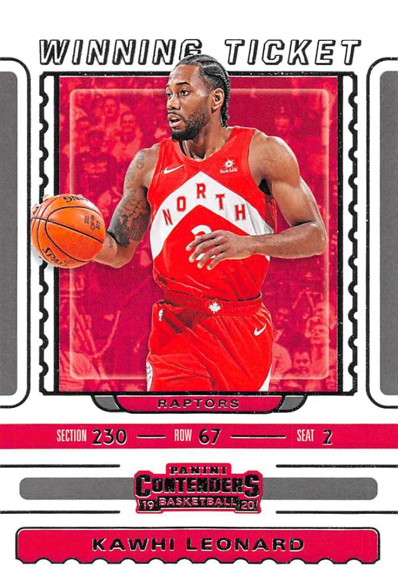 2019-20 Panini Contenders Winning Ticket