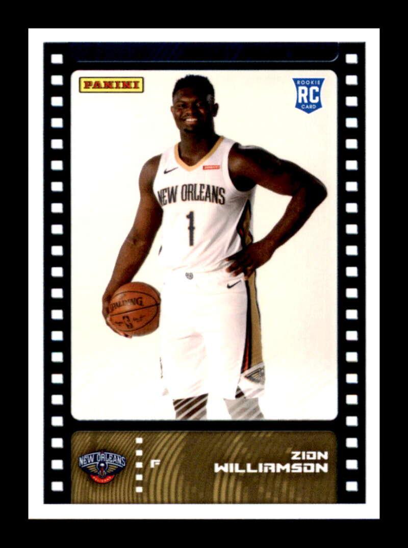 2019-20 Panini NBA Stickers Trading Cards #81 Zion ...