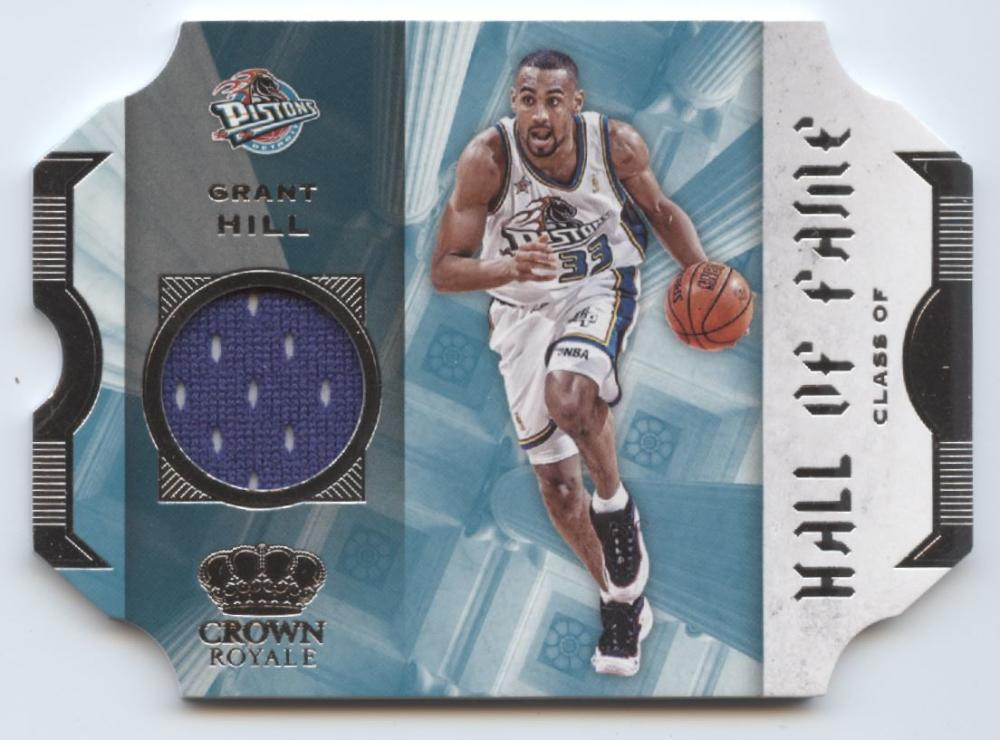 2019-20 Panini Crown Royale Hall of Fame Memorabilia