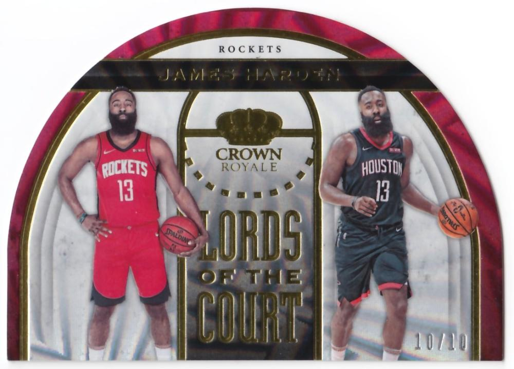 2019-20 Panini Crown Royale Lords of the Court Gold