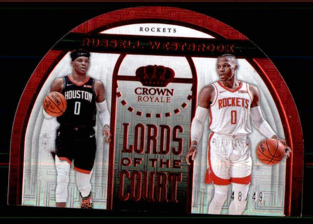 2019-20 Panini Crown Royale Lords of the Court Red