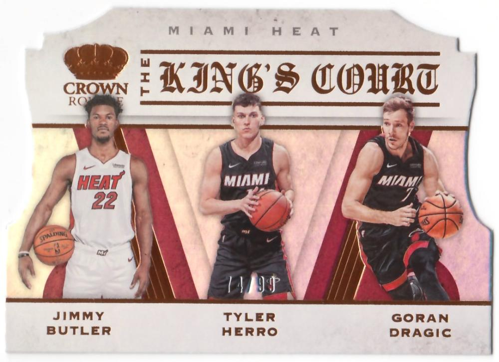 2019-20 Panini Crown Royale The Kings Court