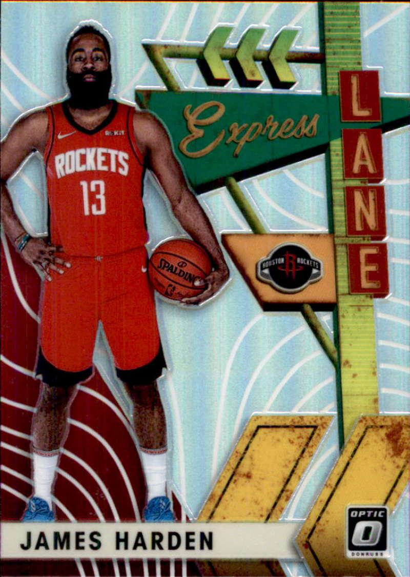 2019-20 Donruss Optic Express Lane Holo