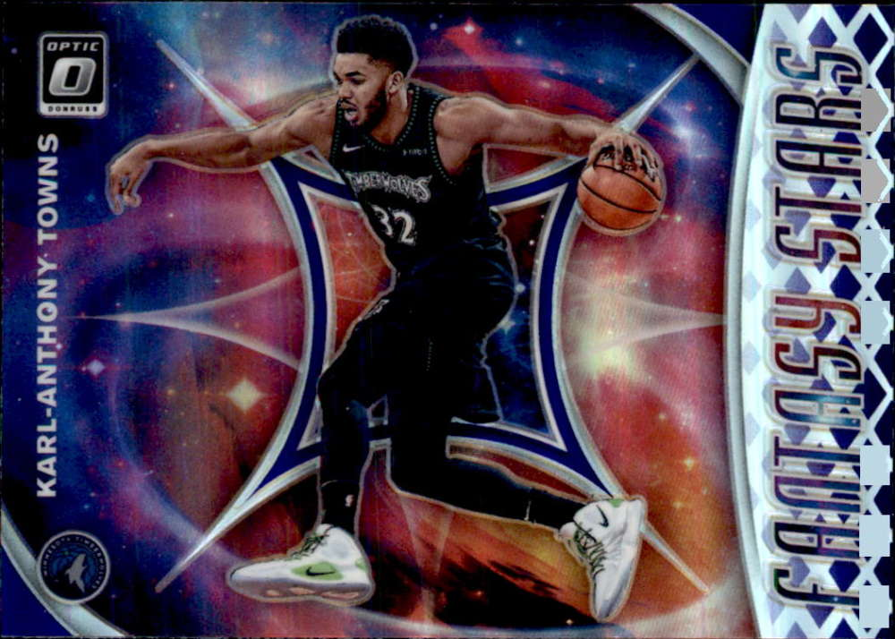 2019-20 Donruss Optic Fantasy Stars Purple