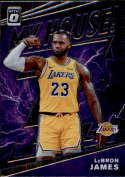 2019-20 Donruss Optic My House Basketball #13 LeBron James Los Angeles Lakers  Official Panini NBA Trading Card