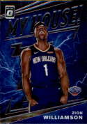 2019-20 Donruss Optic My House Basketball #15 Zion Williamson New Orleans Pelicans Official NBA Trading Card From Panini