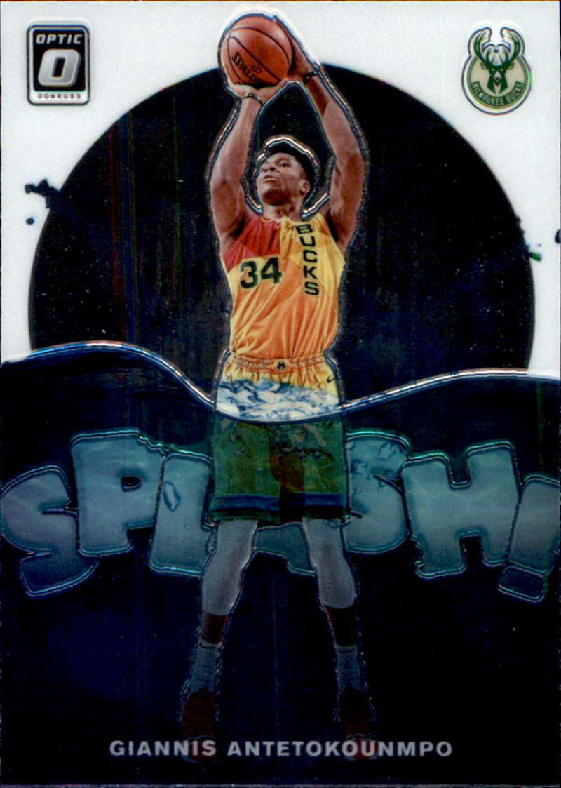 2019-20 Donruss Optic Splash!