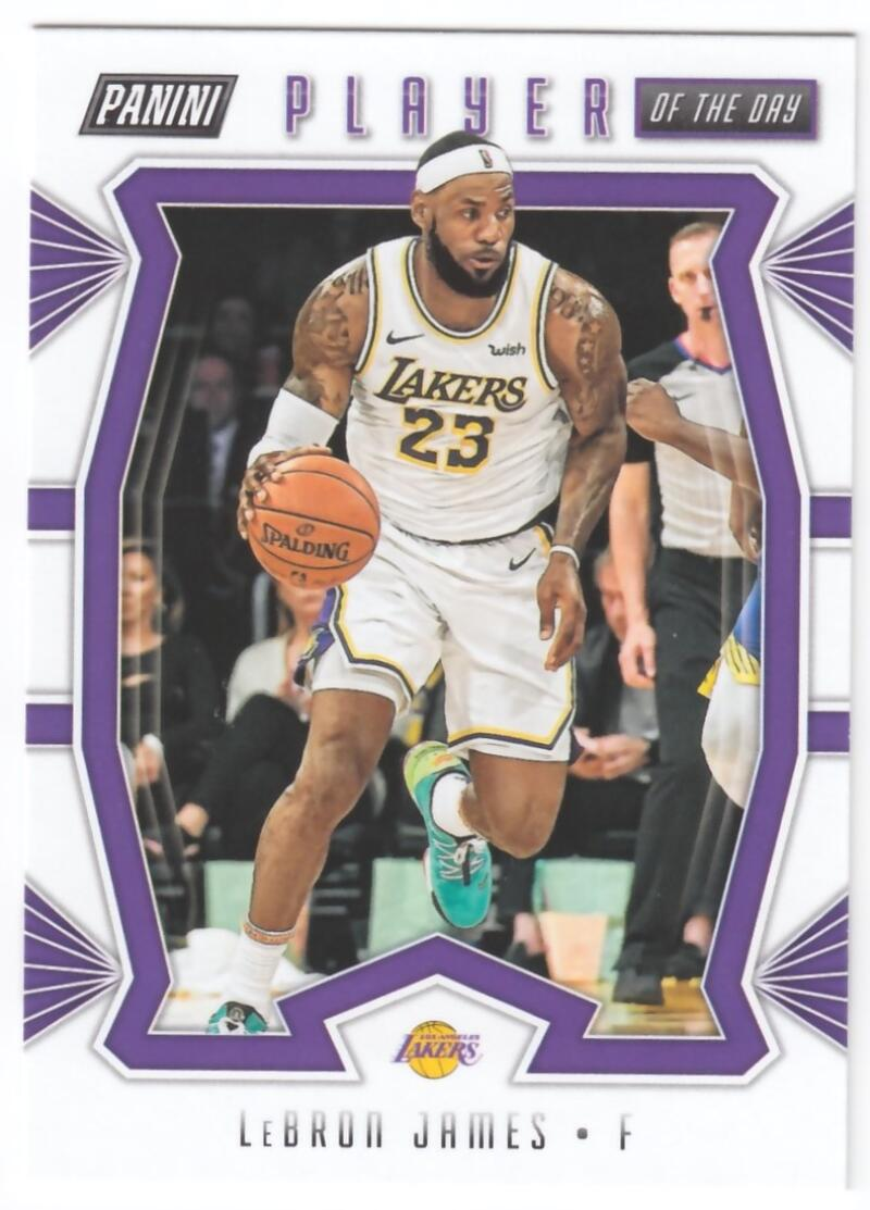 2019-20 Panini Player of the Day