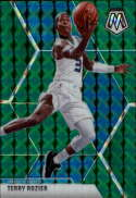 2019-20 Panini Mosaic Green #72 Terry Rozier NM-MT