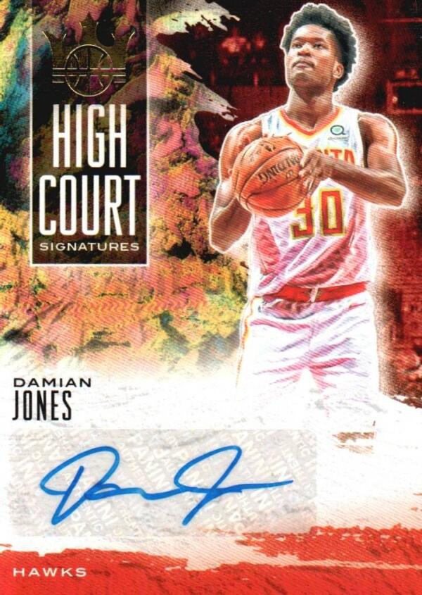 2019-20 Panini Court Kings High Court Signatures