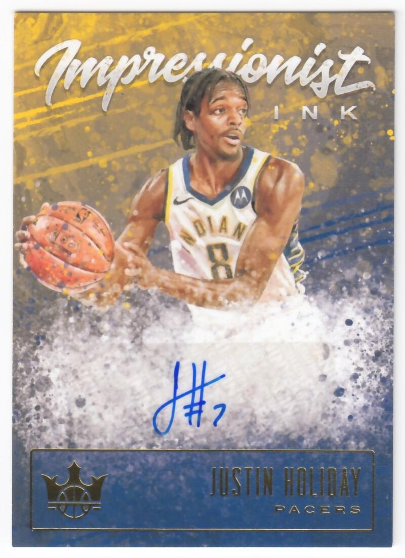 2019-20 Panini Court Kings Impressionist Ink